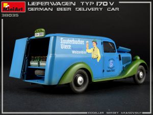Photos 38035 LIEFERWAGEN TYP 170V GERMAN BEER DELIVERY CAR