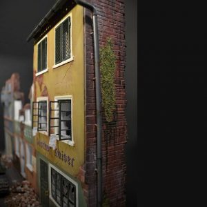 36038 RUINED GERMAN HOUSES w/BASE + 36036 DIORAMA WITH RUINED BUILDINGS + Dima Dubrov (@geolog_25)