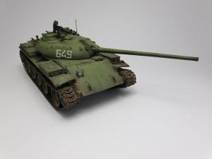 37012 T-54-2 SOVIET MEDIUM TANK. Mod. 1949 + Aaron Slavik