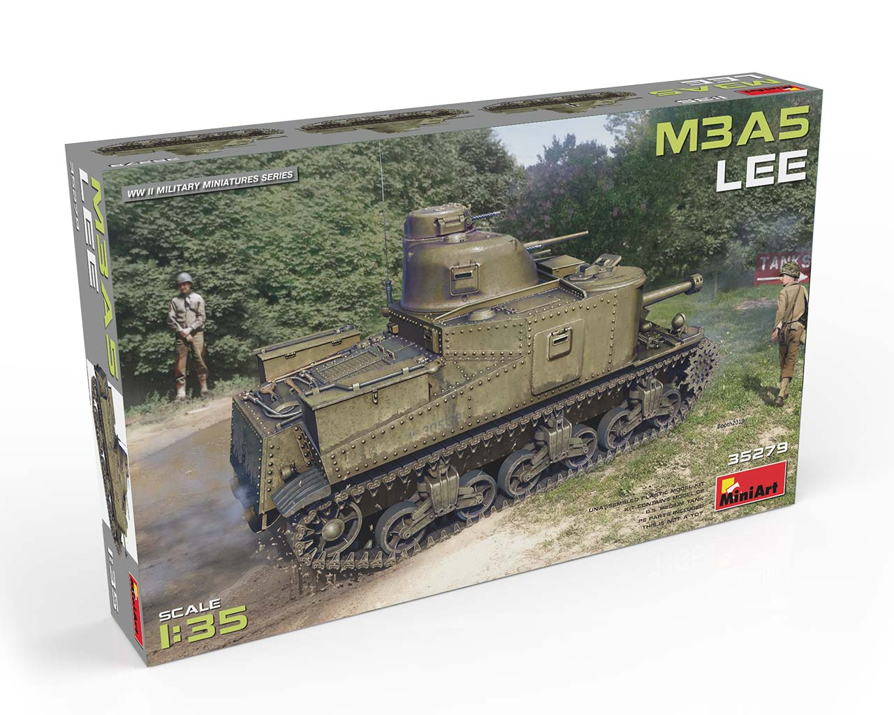 New Photos of Kit: 35279 M3A5 LEE