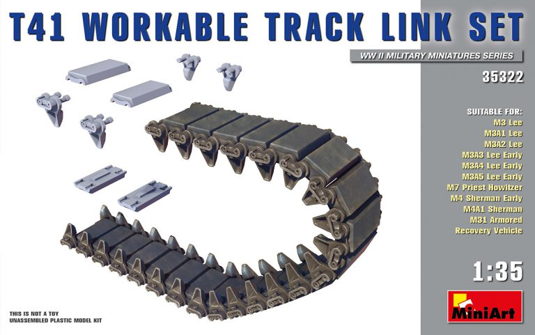 35322 T41 WORKABLE TRACK LINK SET