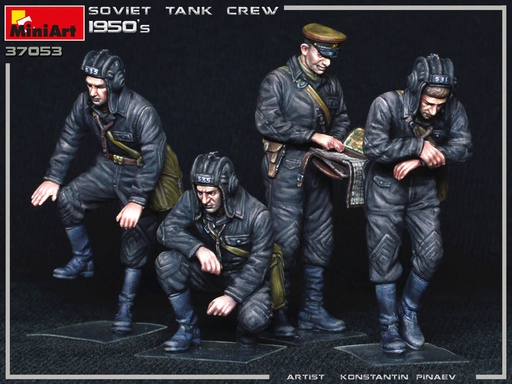 New Photos of Kit: 37053 SOVIET TANK CREW 1950s