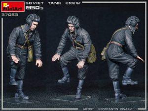 37053 SOVIET TANK CREW 1950s + Konstantin Pinaev