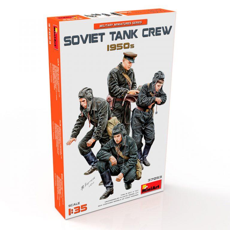 37053 SOVIET TANK CREW 1950s