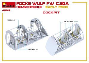 3D renders 41012 FOCKE-WULF FW C.30A HEUSCHRECKE. EARLY PROD