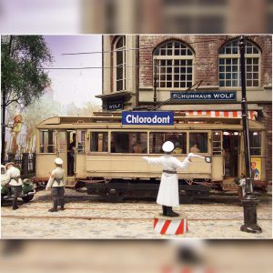 38009 EUROPEAN TRAMCAR + 38014 GERMAN CARGO TRUCK L1500S + 35585 ACCESSORIES FOR BUILDINGS + Andreas Coenen