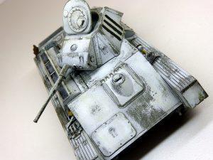 35194 T-70M SOVIET LIGHT TANK w/CREW. SPECIAL EDITION + Sergey Busargin