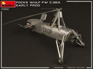 Photos 41012 FOCKE-WULF FW C.30A HEUSCHRECKE. EARLY PROD