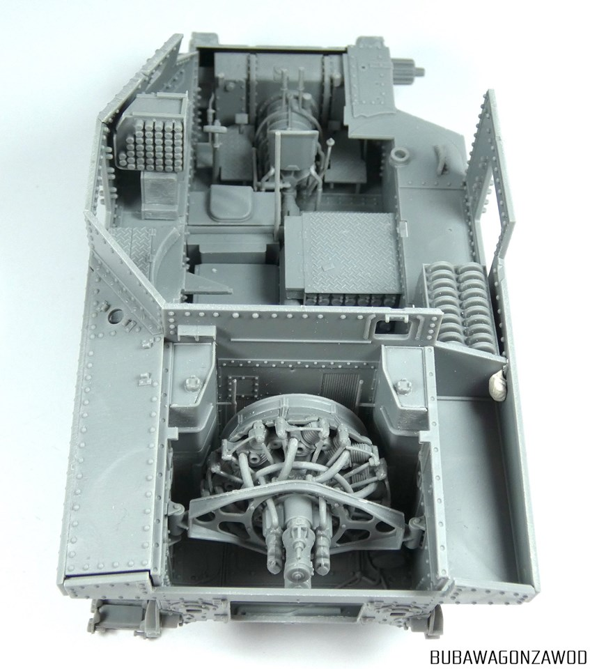 New Build Up Photos of Kit: 35206 M3 LEE EARLY PRODUCTION. INTERIOR KIT by Rafal Buber Kubic