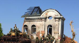 35006 UKRAINIAN CITY BUILDING + Crann Morgan