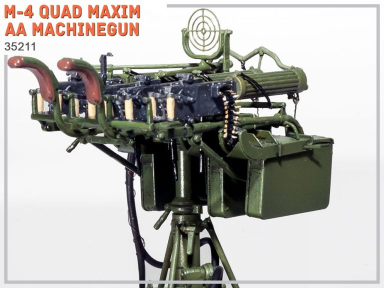 35211 M-4 QUAD MAXIM AA MACHINEGUN