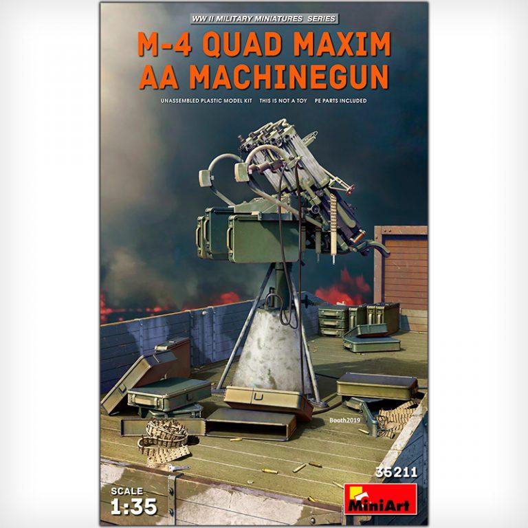 M-4 QUAD MAXIM AA MACHINEGUN