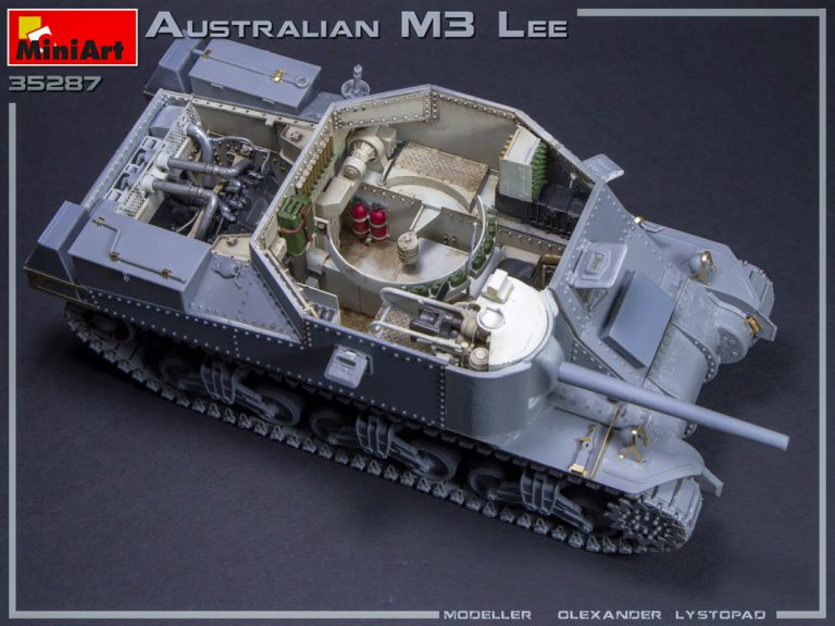 35287 AUSTRALIAN M3 LEE. INTERIOR KIT