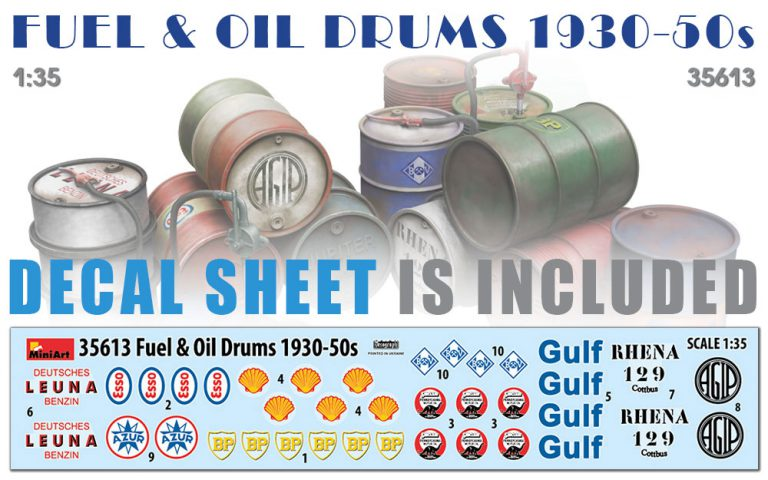 35613 FUEL & OIL DRUMS 1930-50s