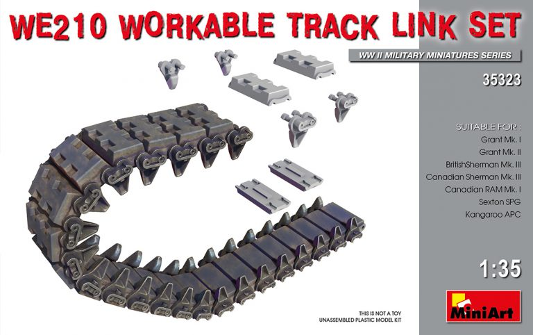 35323 WE210 WORKABLE TRACK LINK SET