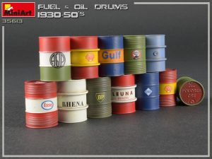 Photos 35613 FUEL & OIL DRUMS 1930-50s