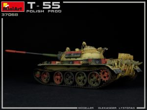 Photos 37068 T-55 Polish Prod.坦克