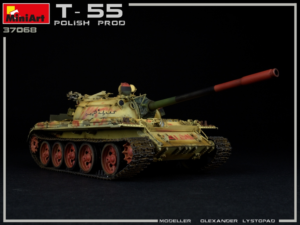 New Photos of Kit: 37068 T-55 POLISH PROD.