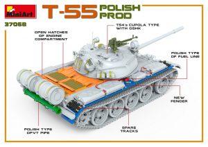 3D renders 37068 Т-55 Польского Производства
