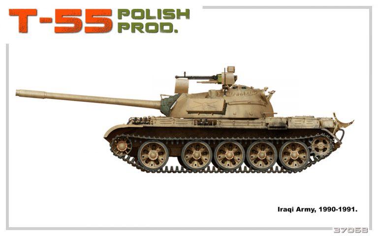 37068 T-55 POLISH PROD.