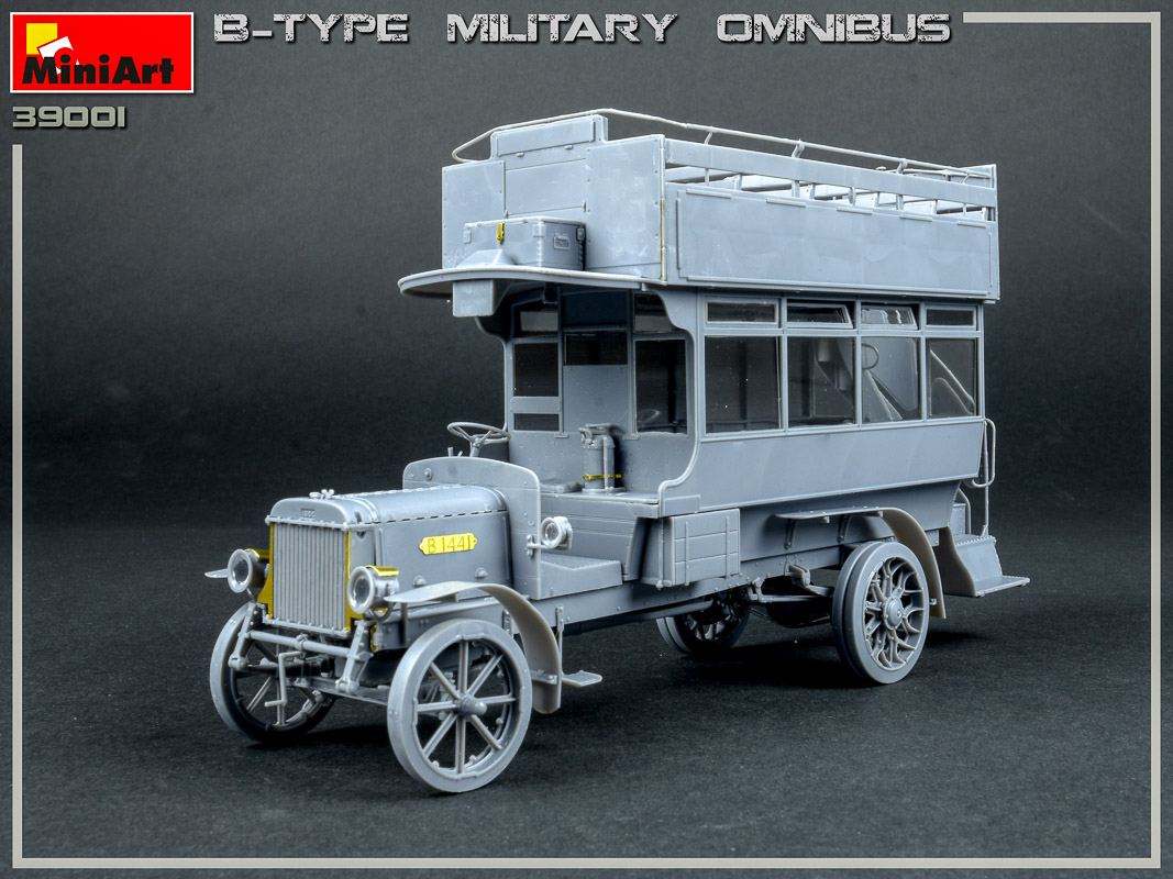 New Build Up Photos of Kit: 39001 B-TYPE MILITARY OMNIBUS