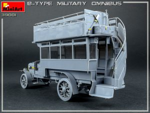 Build up 39001 B-TYPE MILITARY OMNIBUS