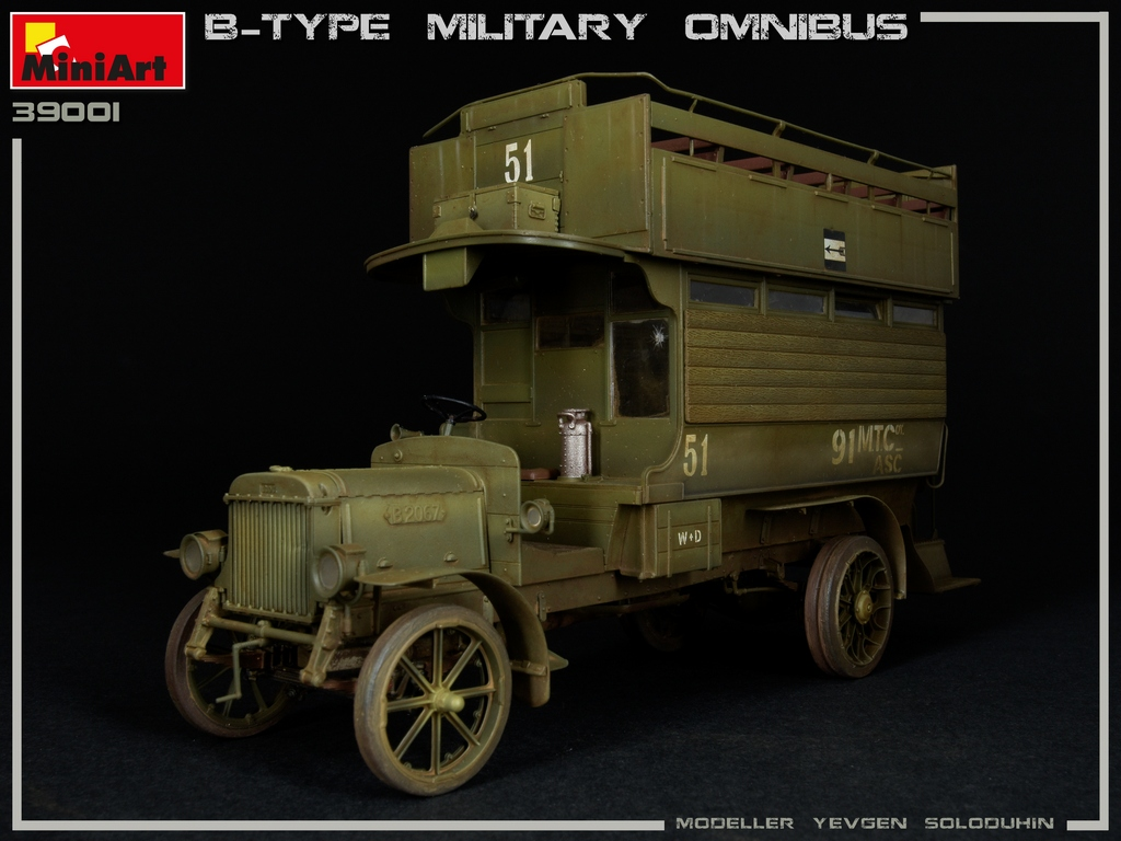 New Photos of Kit: 39001 B-TYPE MILITARY OMNIBUS