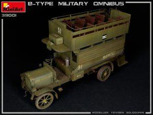 Photos 39001 B-TYPE MILITARY OMNIBUS