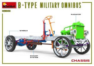 3D renders 39001 B-TYPE MILITARY OMNIBUS