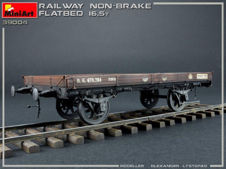 39004 無蓋貨車(ブレーキ装置なし)16.5t