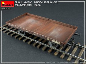 Photos 39004 RAILWAY NON-BRAKE FLATBED 16,5 t
