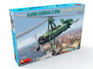 41006 AVRO CIERVA C.30A CIVILIAN SERVICE + Ruslan Shylov