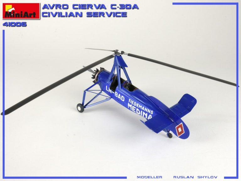 41006 AVRO CIERVA C.30A CIVILIAN SERVICE