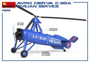 3D renders 41006 AVRO CIERVA C.30A CIVILIAN SERVICE