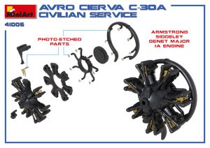 3D renders 41006 アブロ シェルヴァC.30民間機