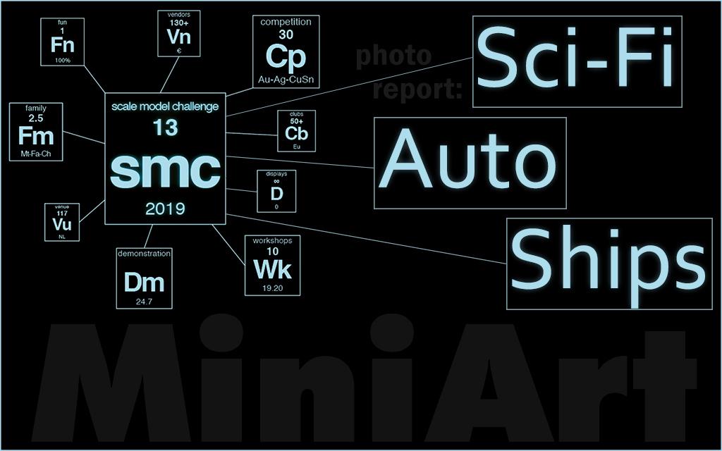 Scale Model Challenge 2019: Auto, Sci-Fi, Ships