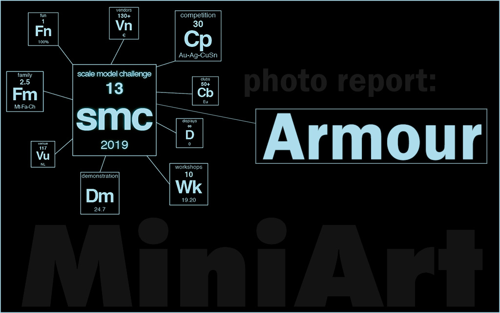 Scale Model Challenge 2019: Armour