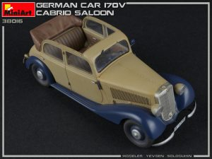 Photos 38016 GERMAN CAR 170V CABRIO SALOON