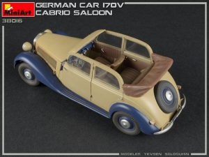 38016 GERMAN CAR 170V CABRIO SALOON by Konstantin Pinaev, Evgeniy Solodyhin