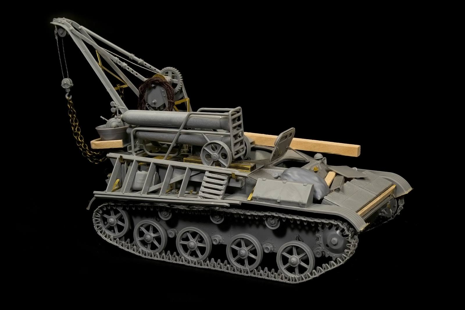 New Build Up of Kit: 35238 BERGEPANZER T-60 ( r ) INTERIOR KIT by Igor Sydorenko