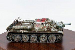 35181 SU-122 Early Production + Mumu zheng's Scale modell