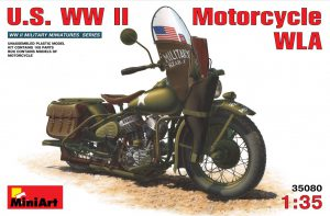 35080 U.S. WW II Motorcycle WLA + Đông Phương Tôn Thất