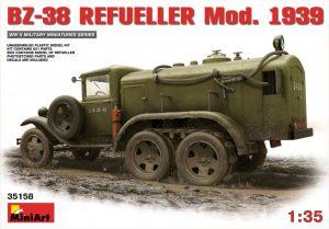 35158 BZ-38 REFUELLER Mod. 1939 + 35145 BZ-38 REFUELLER + Pavel Maksimov