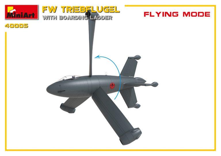 40005 FW トリープフリューゲル(搭乗用ハシゴ付)
