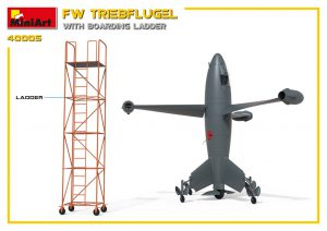 3D renders 40005 FW TRIEBFLUGEL WITH BOARDING LADDER