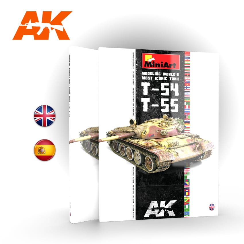 "Exellent Book by AK-Interactive: ""T-54/T-55 MODELING WORLD'S MOST ICONIC TANK"""