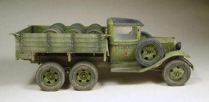 35136 GAZ-AAA Mod. 1940. CARGO TRUCK + Shkalik