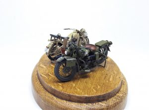 35080 U.S. WW II Motorcycle WLA by Steeve Ingels