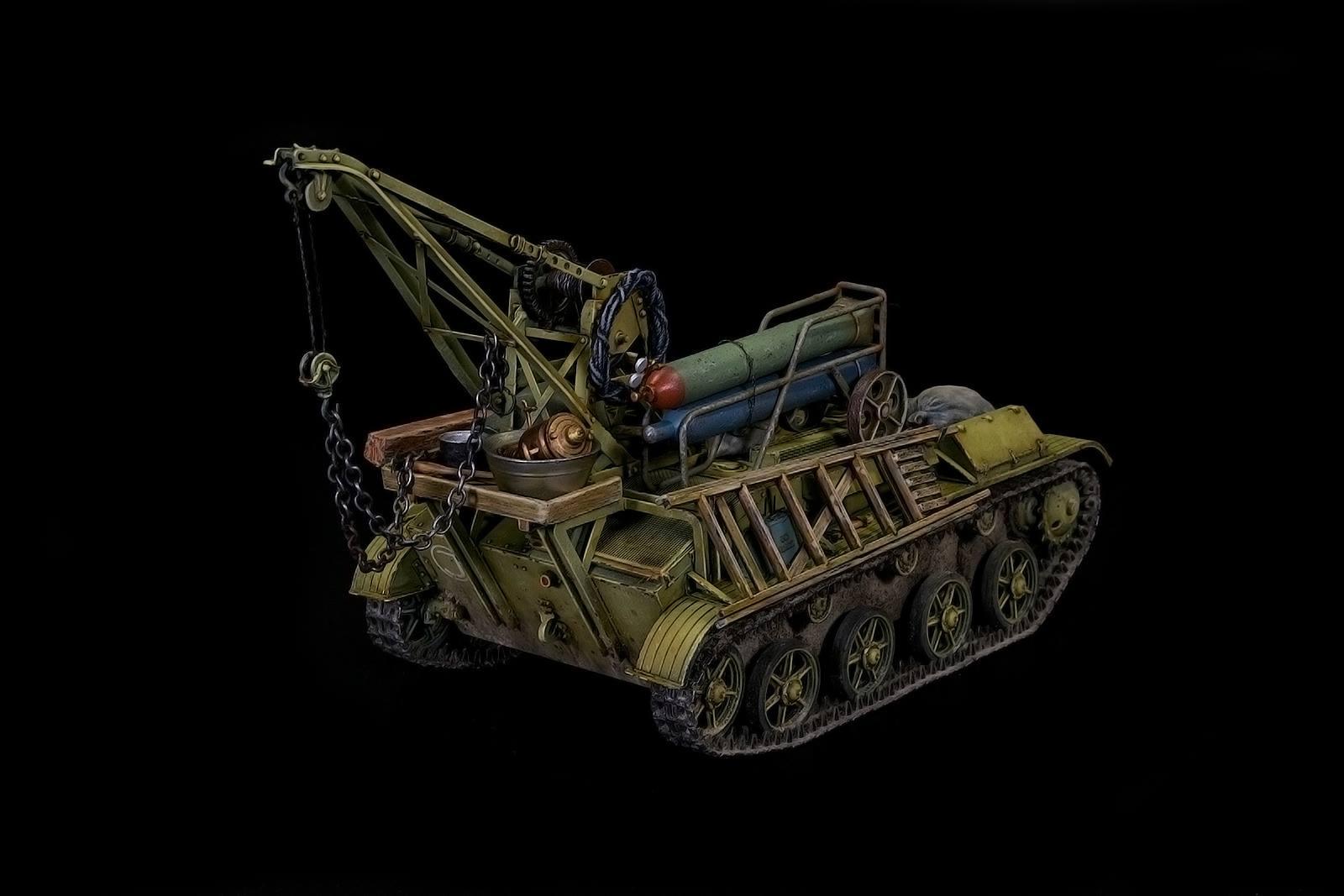 New Build Up of Kit: 35238 BERGEPANZER T-60 ( r ) INTERIOR KIT by Igor Sydorenko