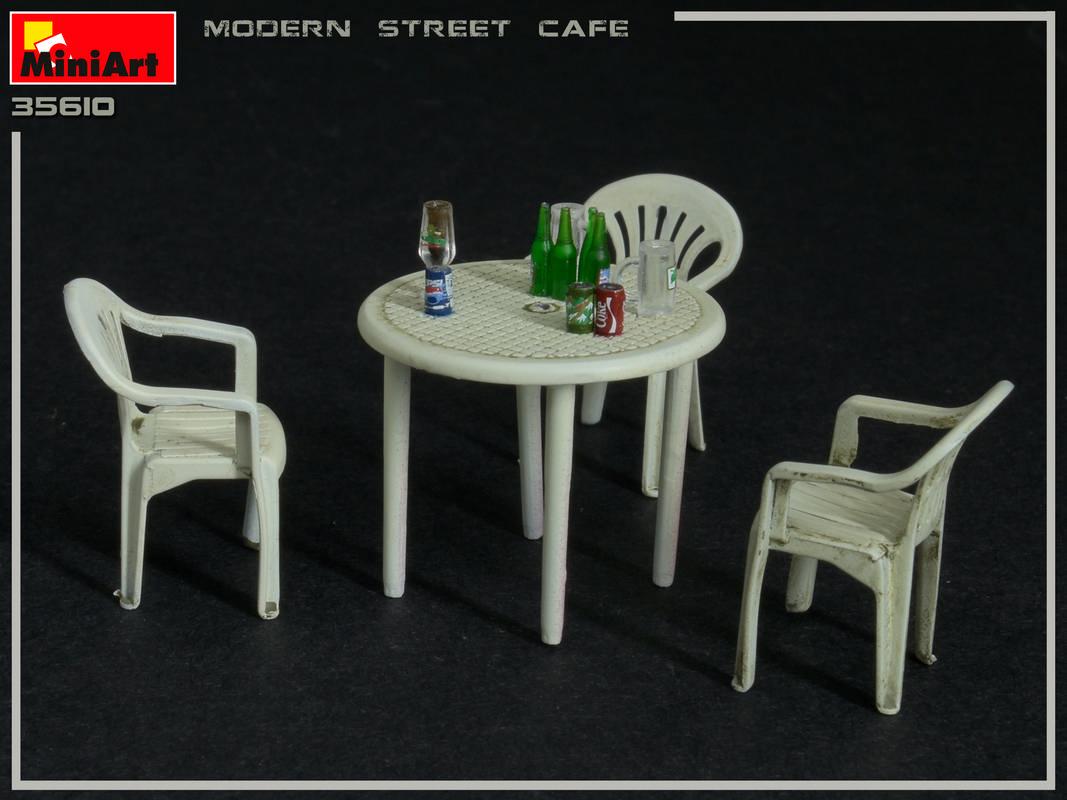 MINIART 35610 Modern Street Cafe in 1:35